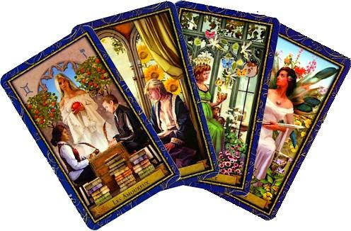 Cartes tarot des magiciens